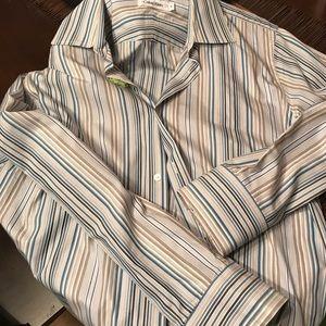 Men's Calvin Klein dress shirt, size medium.