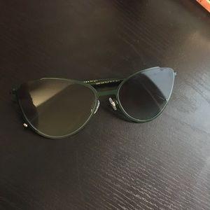 Marc Jacobs 33 Green Cat Sunglasses