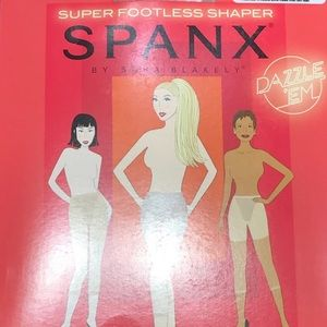 SPANX, Tummy Control Super Footless Shaper, Nude D