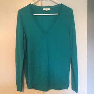 Madewell first draft sweater in bright teal