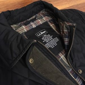 Barbour-lookalike jacket made by L.L. Bean