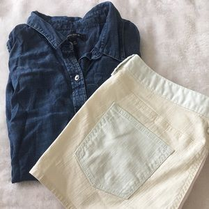 Gap Color-block Shorts