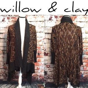 {Willow & Clay} multi color cardigan