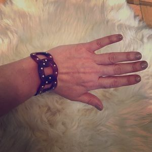Marc by Marc Jacobs tortoise studded cuff