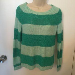 LC Lauren  Conrad striped soft sweater size XS