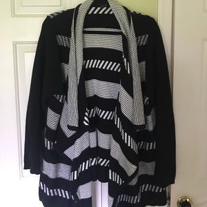 Torrid Waterfall Open Sweater