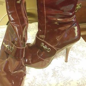 BCBGirls Max Azria Knee-High boots 7.7