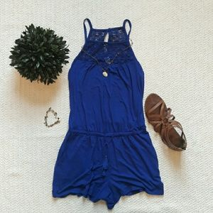 Old Navy Royal Blue Romper