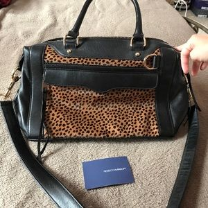 Rebecca Minkoff medium Mab In leopard suede