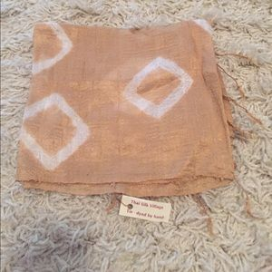 Accessories - NWT Thai Tie Dye Silk Scarf