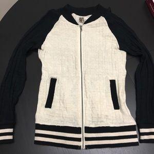 Kut Sweater Bomber Zip Up- NWOT