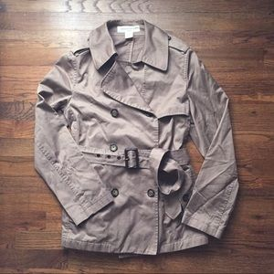 Banana Republic trench coat, belted