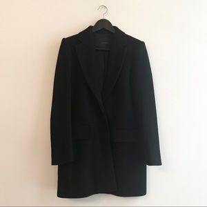 Theory | Women's Black Wool Blend Coat