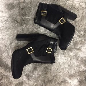 Rachel Zoe Pony Hair Booties