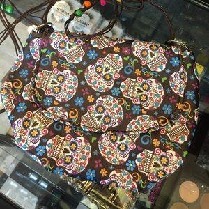 Other - Sugar skull Crossbody purse