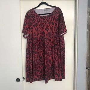 ASOS Leopard Smock dress