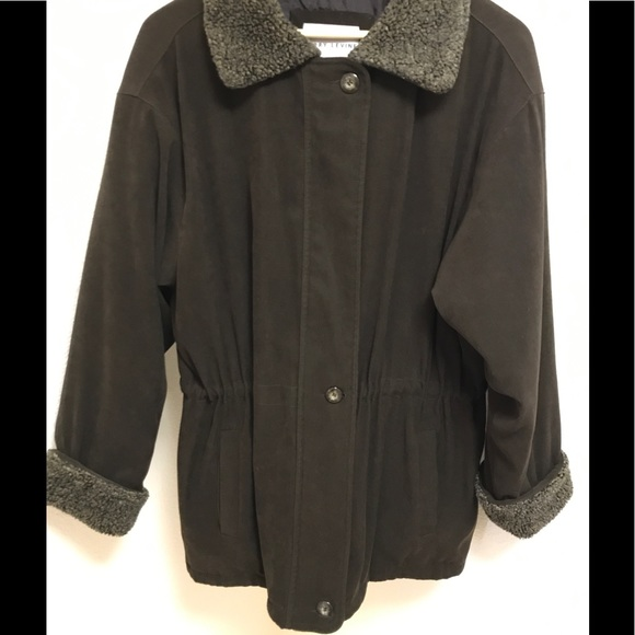 83% off Larry Levine Jackets & Blazers - Chocolate brown coat with ...