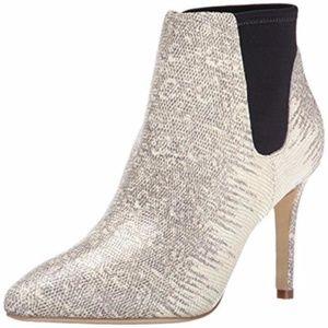 Loeffler Randall Val Snakeprint Ankle Boot Size 8