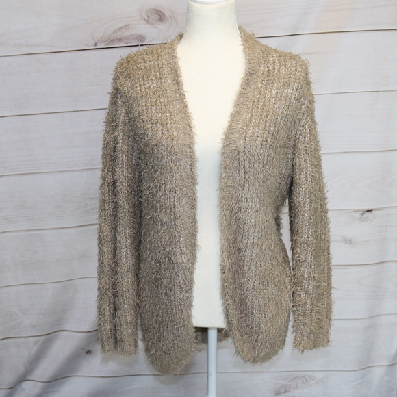 71% off Kensie Sweaters - Kensie Long Cream Chunky Cardigan ...