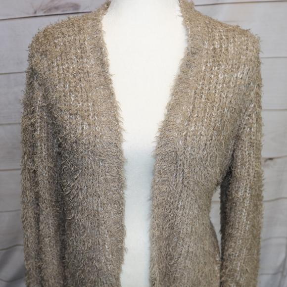 71% off Kensie Sweaters - Kensie Long Cream Chunky Cardigan ...