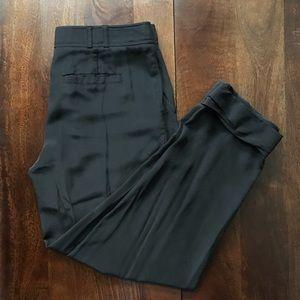 Tory Burch • black silk trousers