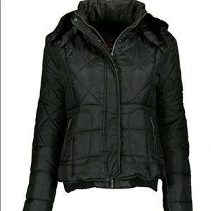 Black Puffer Jacket NWT