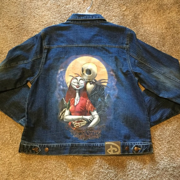 Disney New Nightmare Before Christmas Disney Jean Jacket