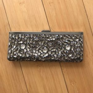 Banana Republic jeweled clutch