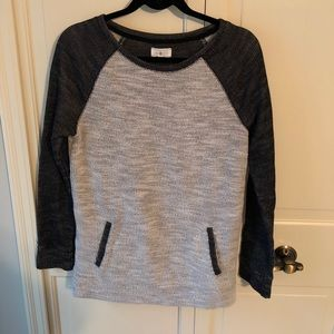 Lou & Grey rugby style sweatshirt with pockets