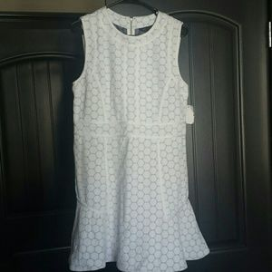 Marc by Marc Jacobs mini white ponte dress