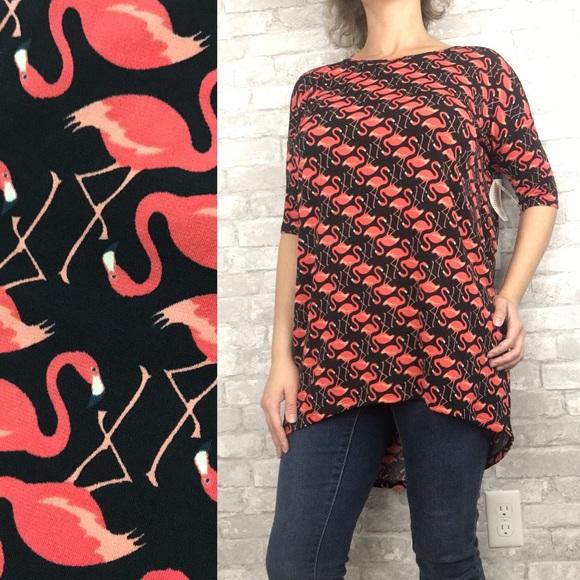 88f2af249416ec LuLaRoe Tops | Xs 26 Irma Flamingo Print | Poshmark