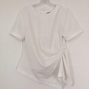 ASOS White Asymmetrical Top
