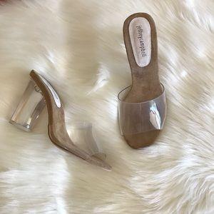 Jeffrey Campbell Clear sandal Heels