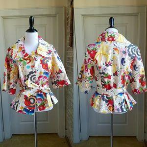 Whimsical 3 Sisters Jacket, M
