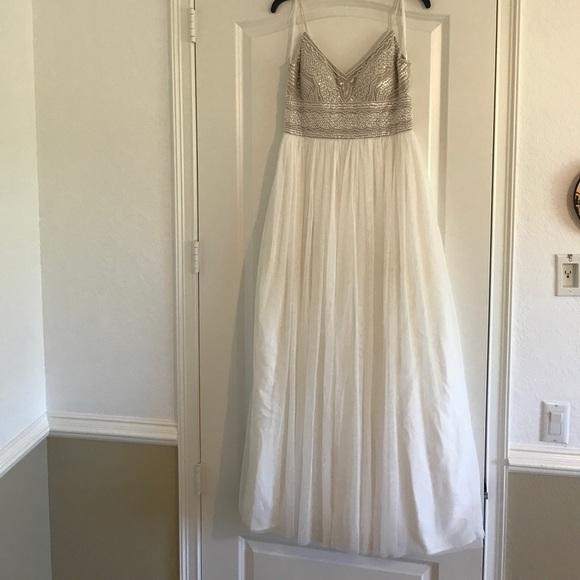 bec21fce2f11 Adrianna Papell Dresses & Skirts - Adrianna Papell Naya wedding dress from  BHLDN