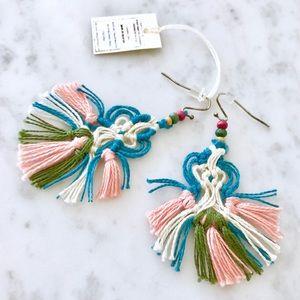 NWT Anthropologie Tassel Earrings