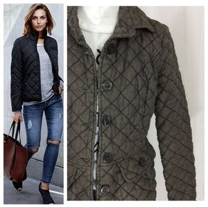 Cut Loose Quilted Jacket
