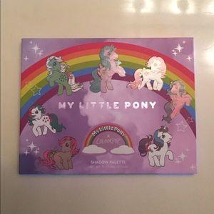 Colourpop x My Little Pony eyeshadow palette