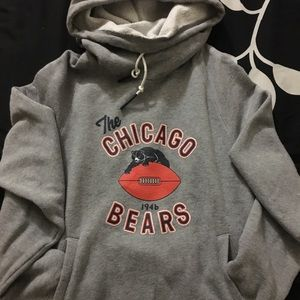 9f3be36b Women's NIKE Chicago Bears Hoodie Throwback Logo