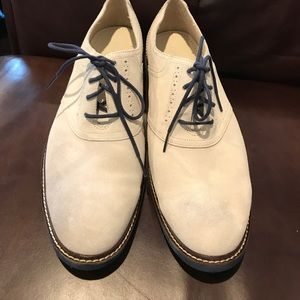 4381adc27fc Cole Haan Shoes - Cole Haan NYC White Suede Shoes