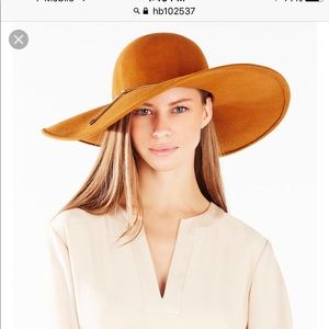COUTURE FLOPPY HAT HB102537 MUSTARD