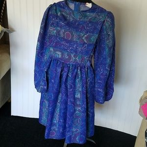 Vintage Pinafore style Dress