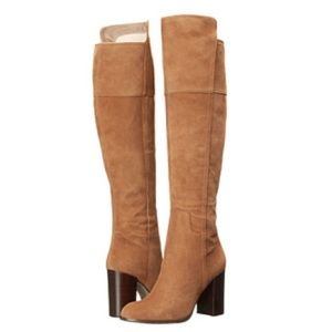 047ccda8628 Pour La Victoire Shoes - Talia Suede Over The Knee Boots