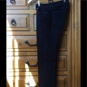 Size 2 - black straight leg corduroy pants