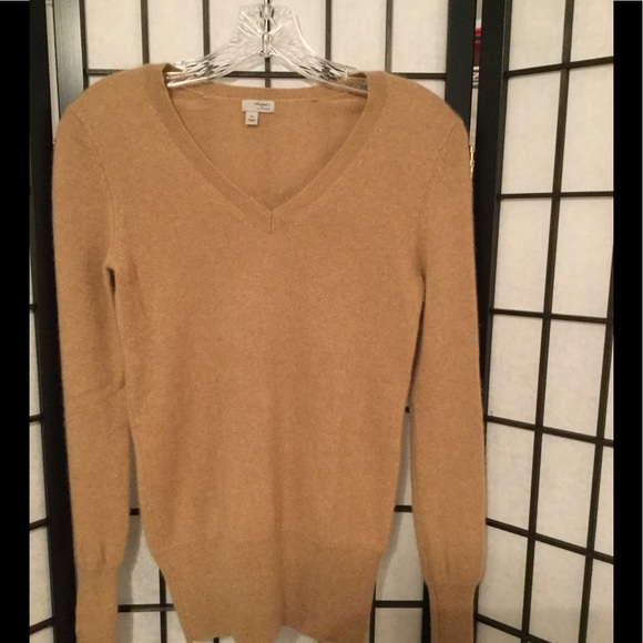 53% off Halogen Sweaters - Cashmere sweater in great camel color ...