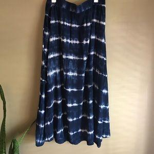 Merona Tie Dye Maxi Skirt