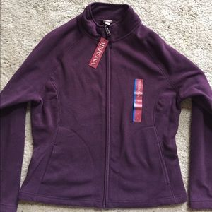 Merona Fleece Jacket, purple