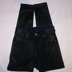 CAR MAR Coated Jeans Sz 28