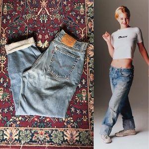 90s Levi's 560 High Waisted Mom Jeans