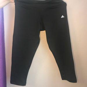 Adidas sports capris
